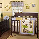 CoCo & Company Monkey Time Crib Collection