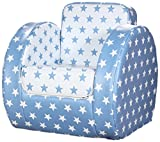 Kit for Kids SP9004 - Silla en PVC, 55 x 55 x 67 cm, color azul