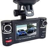 "2.7 ""HD 1080P Doppelobjektiv Auto DVR Tagesnachtsicht Rückfahrkamera-Recorder Dash Cam"