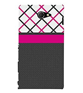 Amazing Pattern 3D Hard Polycarbonate Designer Back Case Cover for Sony Xperia M2 Dual D2302 :: Sony Xperia M2