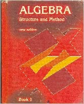 algebra structure and method book 1 pdf