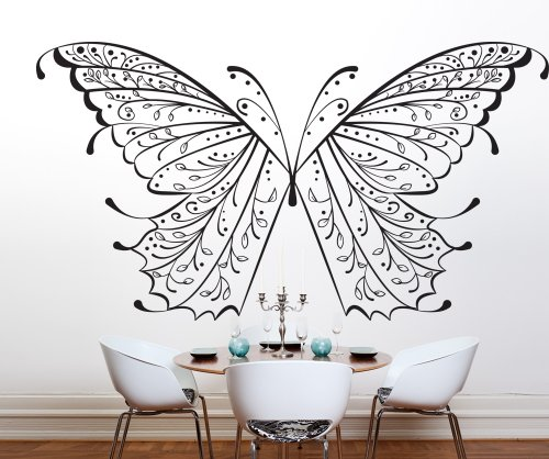 Vinyl Wall Decal Sticker Butterfly Wings OS_DC226s