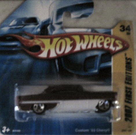 Hot Wheels 2007 FIRST EDITIONS: Custom 53' Chevy #034