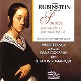 Sonatas Op.49- Viola and Op.98- Violin (Franck, Ciocarlie) Anton Rubinstein