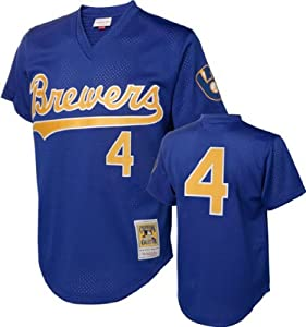 MLB Mitchell & Ness Milwaukee Brewers Paul Molitor 1991 Cooperstown Collection... by Mitchell & Ness
