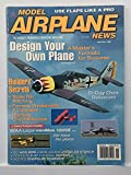 img - for Model Airplane News, November 1996 (Design Your Own Plane; a Master's Formula for Success) book / textbook / text book