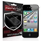 Skque® Apple® Iphone® 4G Clear Screen protector [Electronics] (3 pack)