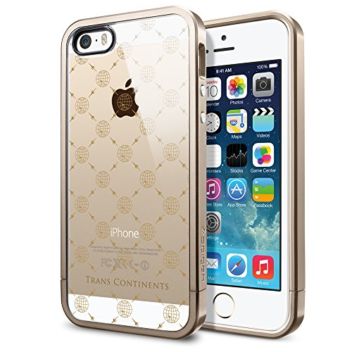 国内正規品TRANS CONTINENTS for iPhone 5s / 5 ケース Spigen コラボモデル (Monogram(SGP10693))