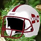 Football Helmet Ornament - Mississippi State