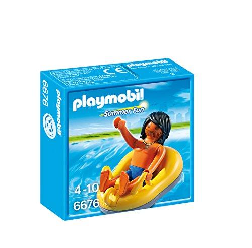 PLAYMOBIL River-Rafting Tube Playset - 1
