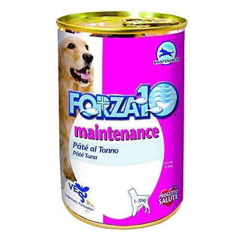FORZA 10 Maintenance patè tonno umido cane gr. 400 - Mangimi umidi per cani