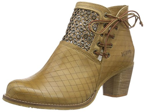 dkodeBice - Stivaletti a gamba corta mod. Classics, senza imbottitura Donna , Marrone (Braun (Camel 005)), 36