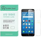 For Meizu M3 Note Golden Sand™ Eco Series Tempered Glass With Smooth Touch 2.5D Curved Edge 0.3mm Thin 9H Hardness: HQ HD Toughened Screen Protector