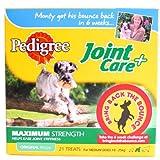 Pedigree Joint Care Plus Medium Dog Treats 21 pack