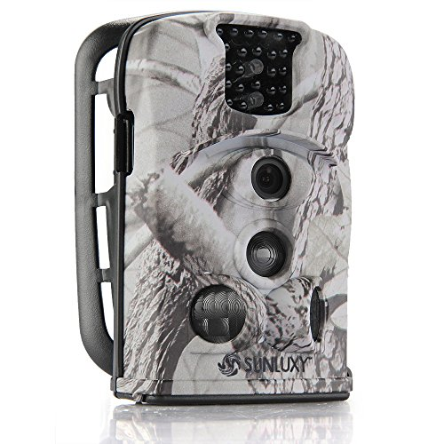 12MP Farb CMOS IR Cut Wildkamera Überwachungskamera Fotofalle Maultrie mit 8G SD Karte