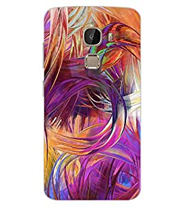 ColourCraft Abstract Image Design Back Case Cover for LeEco Le 2 Pro