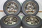 【中古】RAYS(レイズ) TE37 CUP 195/50R15 ロードスター R1R 15in タイヤホイール【S-Y0728Z03K2-K6K3】