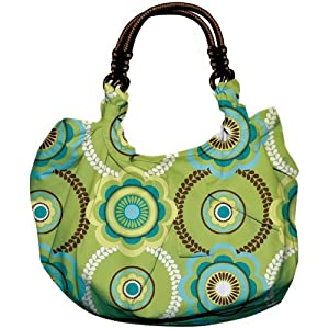 Daisy Kingdom Craft Kit Hobo Tote, Serendipity and Lime