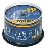 Platinum-CD-R-700-MB-CD-Rohlinge-52x-Speed-80-Min-50er-Spindel