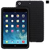Snugg iPad Mini 1 / 2 / 3 Silicone Case in Black - Non-Slip Material, Protective and Soft to Touch for the Apple iPad Mini & iPad Mini 2 with Retina & iPad Mini 3
