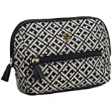 Tommy Hilfiger Women S Cosmetic/Make-up/Toiletry Bag, Black Alpaca