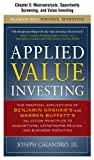 Applied Value Investing, Chapter 5: Macroanalysis, Opportunity Screening, and Value Investing