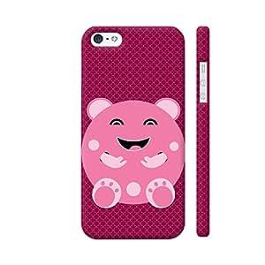 Colorpur LOL Cartoon In Pink Artwork On Apple iPhone SE Cover (Designer Mobile Back Case)   Artist: Designer Chennai