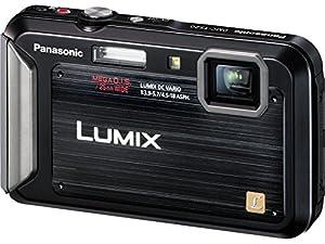 Panasonic Lumix TS20 16.1 MP TOUGH Waterproof Digital Camera with 4x Optical Zoom (Black) (OLD MODEL)