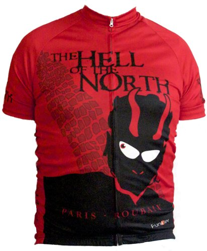 Hell of the North - Paris-Roubaix Men's Cycling Jersey