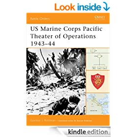 US Marine Corps Pacific Theater of Operations 1943-44: 1943-44: v. 2 (Battle Orders 7)