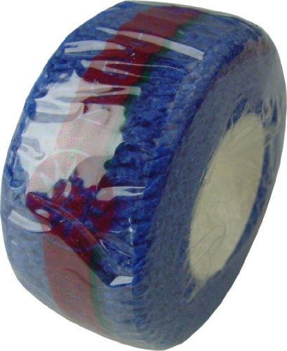 Kohäsive Vliesstoffbinde von Noba in Folie verpackt 2,5 cm x 4,5 Meter Farbe: blau