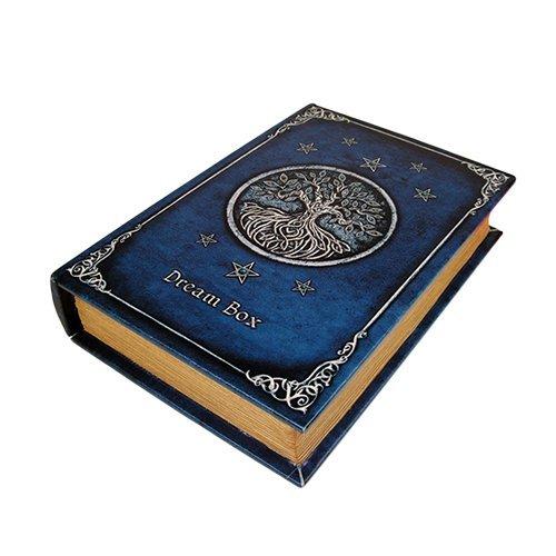9.25 Inch Book of Dreams Rectangle Jewelry/Trinket Box Figurine