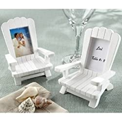 Beach Memories Miniature Adirondack Chair Place Card/Photo Frame (Set of 8)