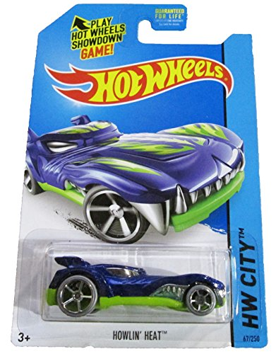 Hot Wheels - HW City 67/250 - Medieval Rides - Howlin' Heat