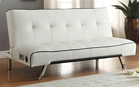 Sofa Bed with Built-In Bluetooth Speaker