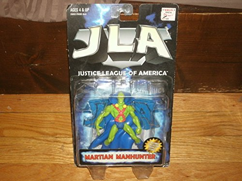 Justice League of America Martian Manhunter Action Figure By Hasbro