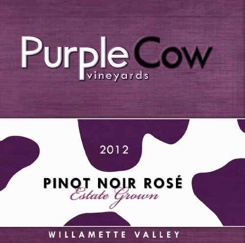 2012 Purple Cow Vineyards Pinot Noir Rosé 750 Ml