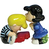 Westland Giftware Peanuts Magnetic Lucy and Schroeder Salt and Pepper Shaker Set, 3-1/2-Inch