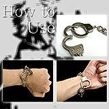 ゴシック に パンク に◆ひねった ファッション ◆ 手錠 ブレスレット
