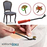 Workline Upholstery Tack Puller Remover Tool
