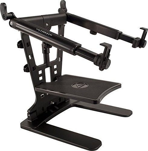 ultimate-support-hyperstation-qr-hyper-series-desktop-and-5-8-thread-mountable-laptop-dj-stand
