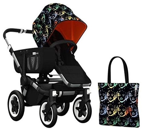 Bugaboo Donkey Accessory Pack - Andy Warhol Marilyn/Orange (Special Edition)