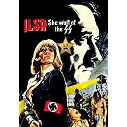 Ilsa - She Wolf of the SS [VHS Retro Style DVD] 1975