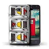 STUFF4 Phone Case Cover for LG L70D320 Bells Design Slot Machine Collection