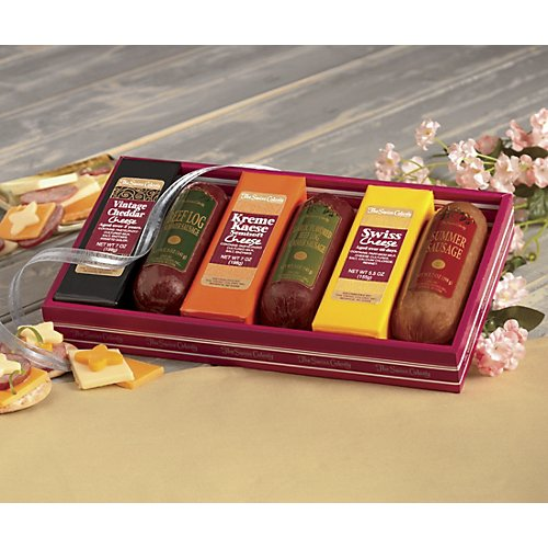 The Swiss Colony Sausage 'n Cheese Bars Gift