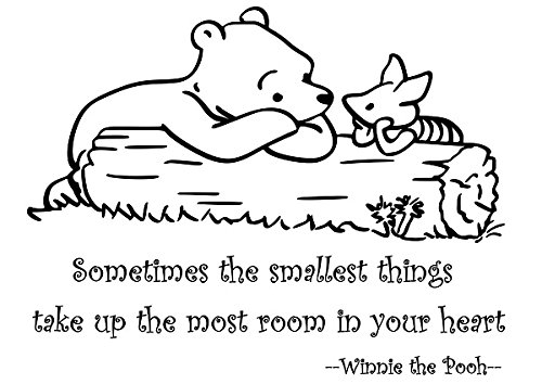 Winnie The Pooh Wall Quotes front-642637