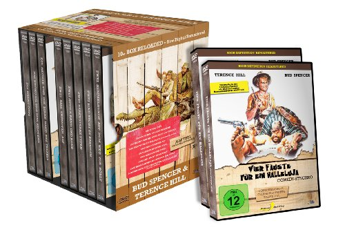 Bud Spencer & Terence Hill 10er Box RELOADED [10 DVDs], DVD