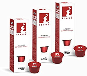 Order 30 Ècaffè Capsules Espresso Vivace INTENSO from Caffitaly System
