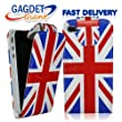Gadget Giant Apple iPhone 4 PU Leather Flip Case / Cover / Protector Union Jack DESIGN + FREE SCREEN PROTECTOR - Support Great Britain - London 2012 Olympics - Queens Diamond Jubilee 2012