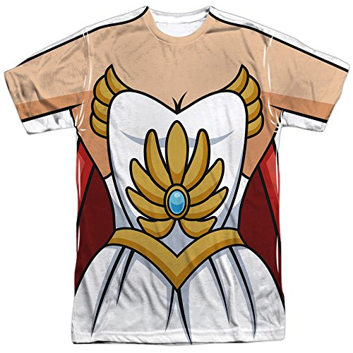 She-Ra: Princess Of Power Cartoon She-Ra Costume Adult Front Print T-Shirt Tee